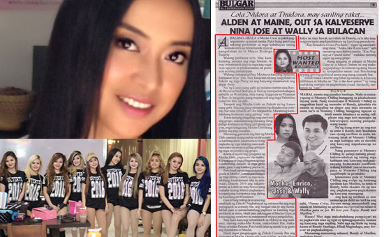 Sexy girl group leader reaction to Cristy Fermin on Duterte's campaign issues