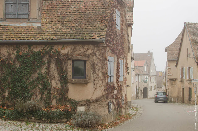 Mittelbergheim pueblos Alsacia Francia