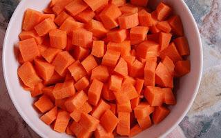 Zanahoria hortaliza rica en vitaminas