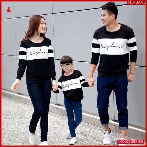 AKC053S123 Sweater Couple Wisdom Anak 053S123 Keluarga BMGShop