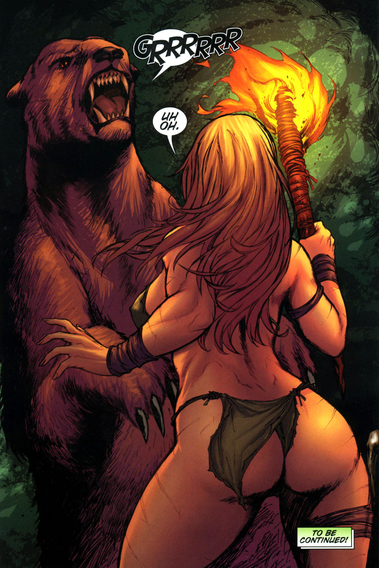 Read online Jungle Girl comic -  Issue #3 - 25