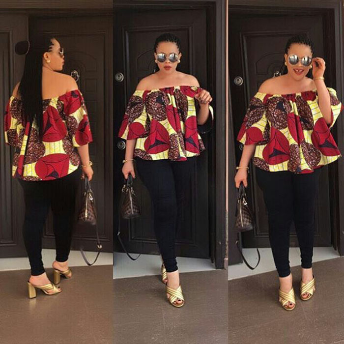 Latest Off Shoulder Ankara Tops For Ladies (2018)