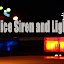 Police lights and sirens joke