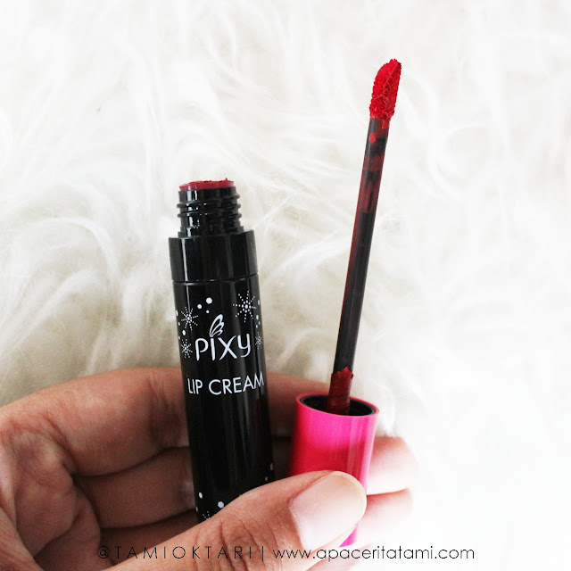 PIXY Lip Cream Shade 02 Party Red