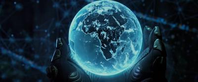 Holograma del mundo