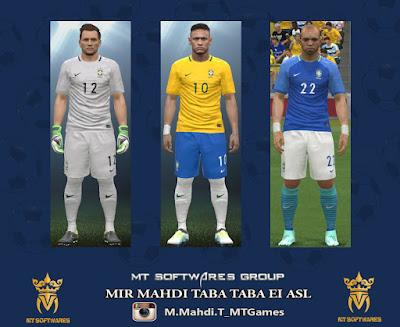 PES 2016 Brasil Copa America 2016 Kits