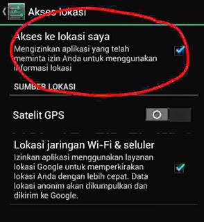 Cara agar posisi ponsel tidak terlacak