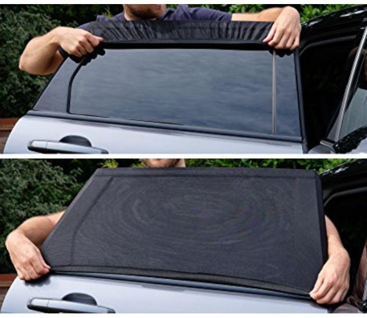 Car Rear Side Window Sun Shade - Made 2 Shade