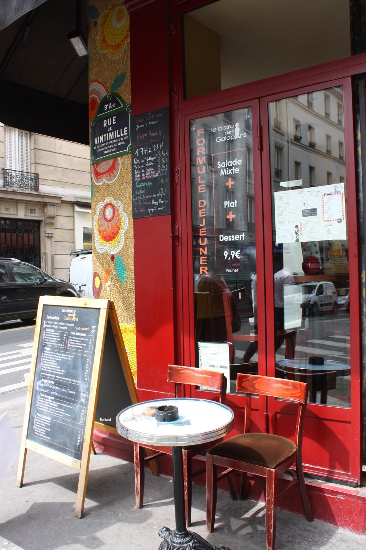 Paris Bistro des Galopins restaurant