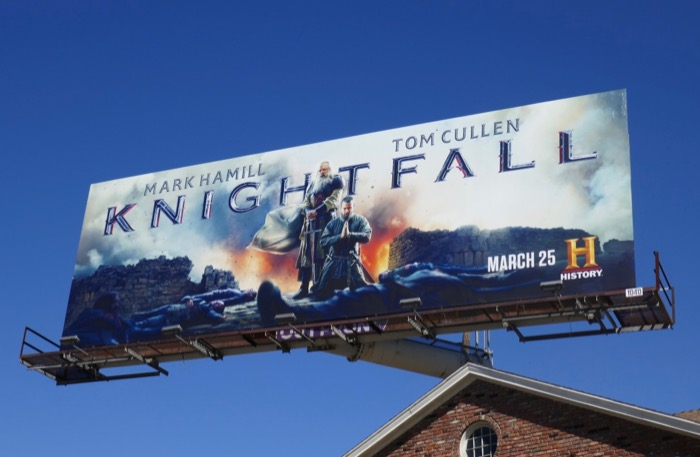 Knightfall season 2 billboard