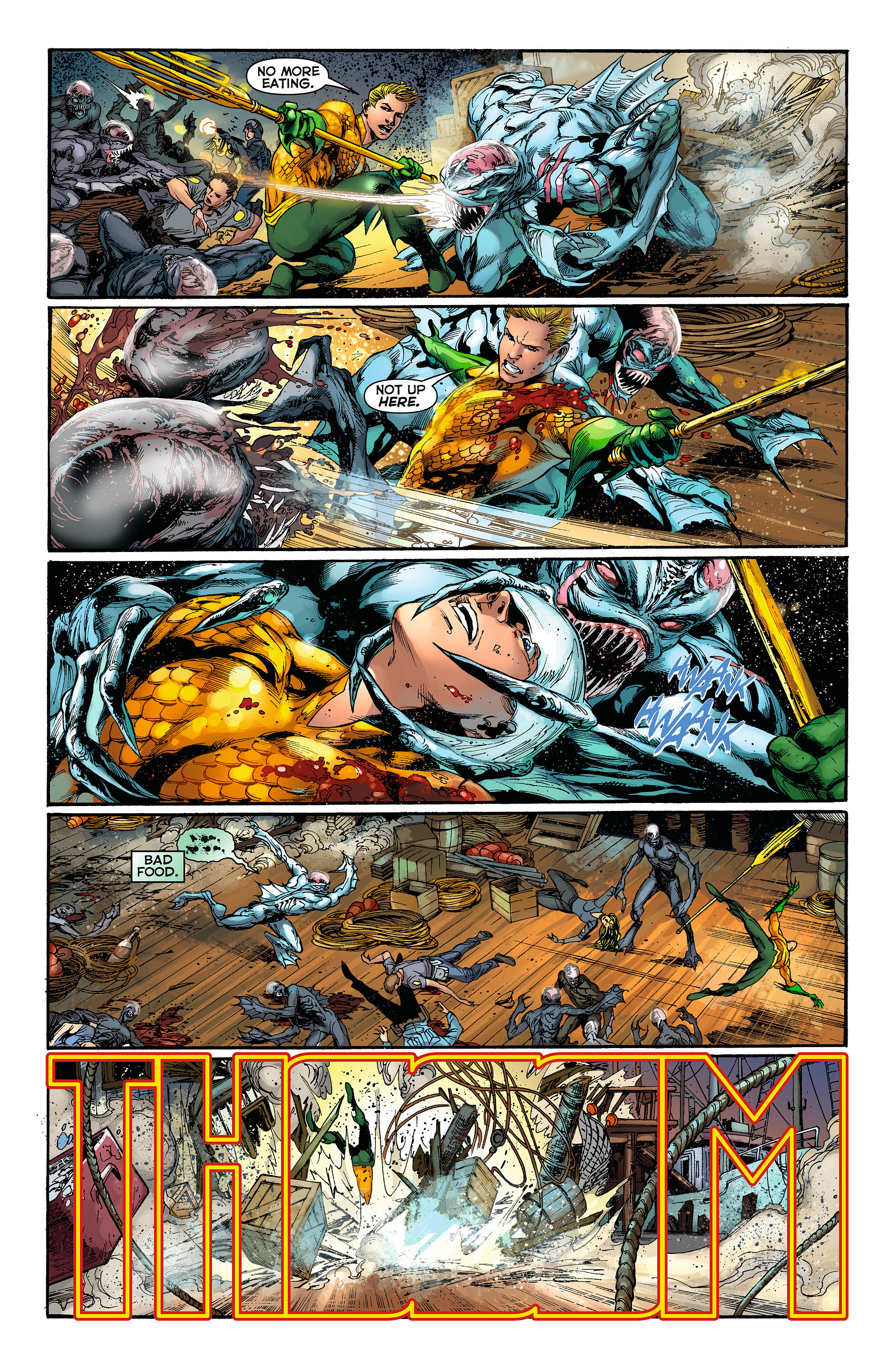Read online Aquaman (2011) comic -  Issue #3 - 7