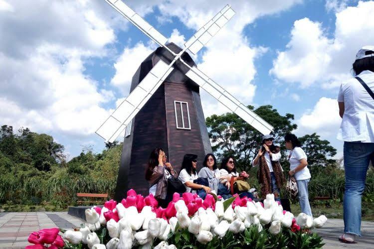 20k bisa keliling dunia di Landmark Merapi Park