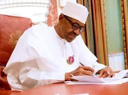 Buhari writing