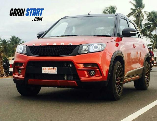 Top Maruti Suzuki Brezza Modification in India