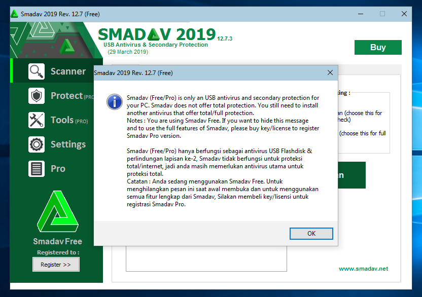 Smadav Pro Full Life Time Anti Black List