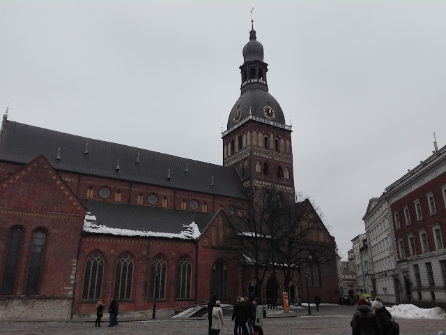 Catedral Luterana de Riga (@mibaulviajero)