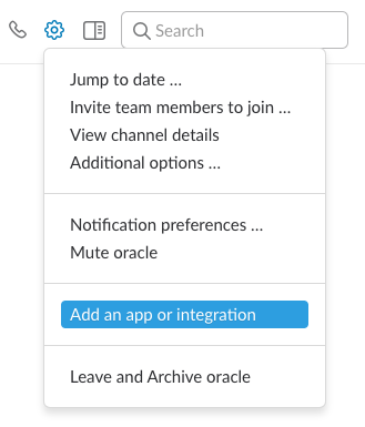 Oracle Sean: Sending messages from an Oracle database to Slack