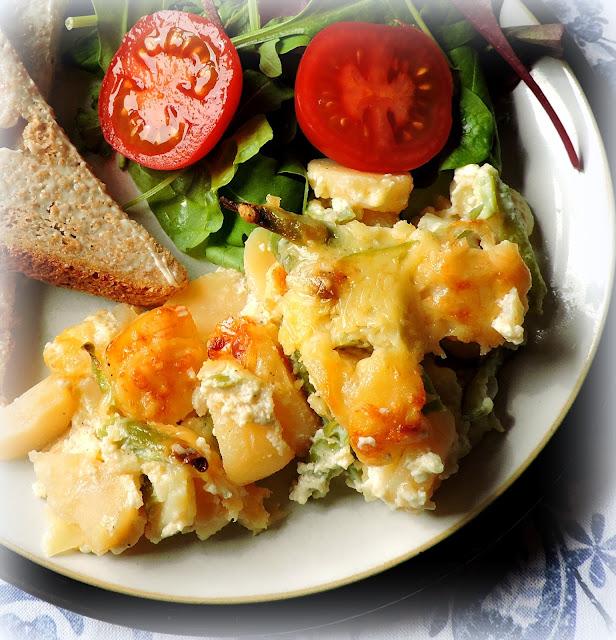 Potato & Cheese Pie