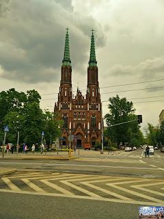 Pologne : Varsovie : Katedra św. Floriana