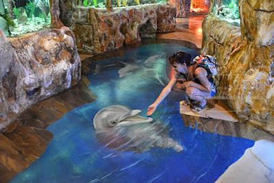 г евпатория крым, евпатория набережная, 3d аквариум