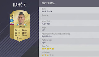 Marek Hamsik fifa 18