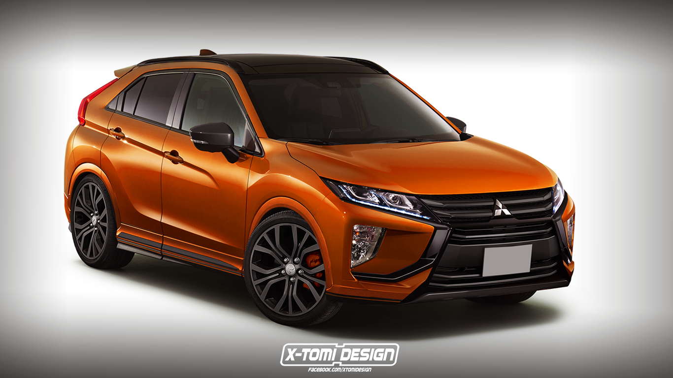 2015 Mitsubishi Eclipse >> X-Tomi Design: Mitsubishi Eclipse Cross Ralliart