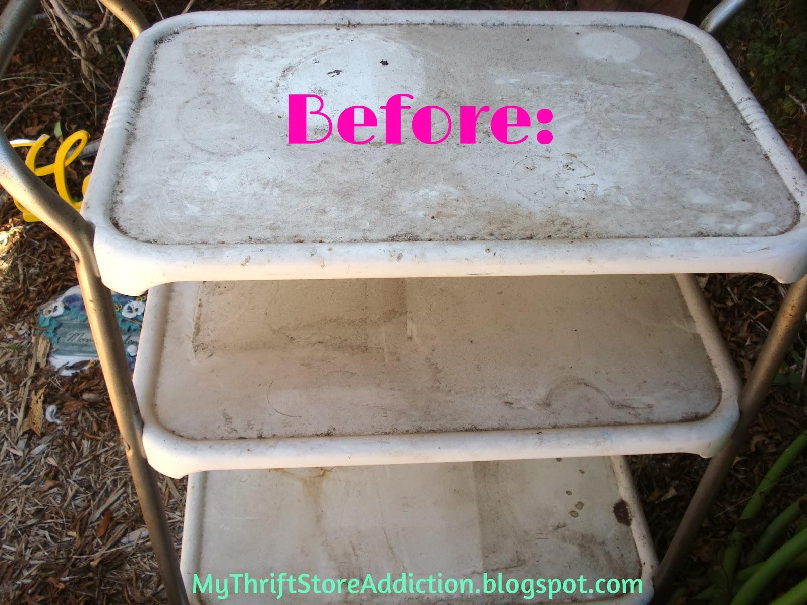 Vintage Cosco cart makeover