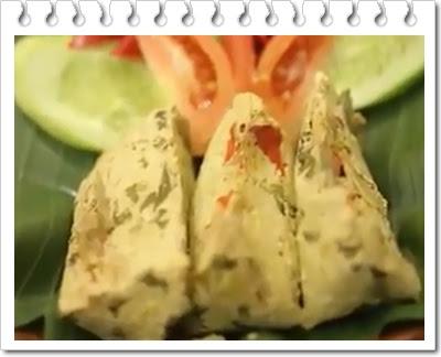 Resep pepes tahu jamur khas sunda