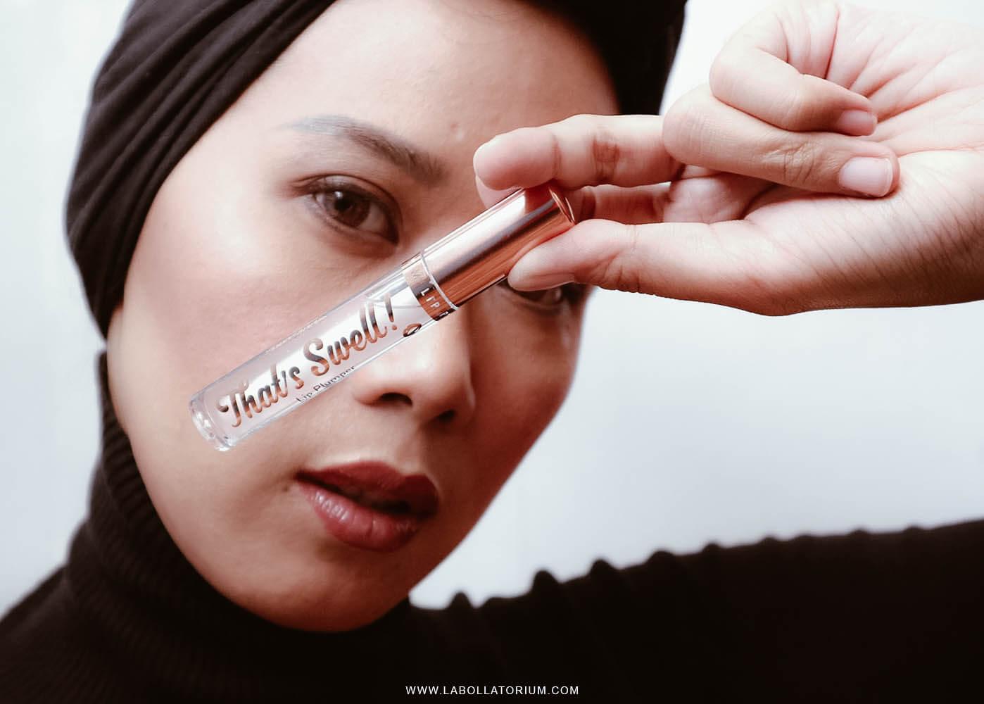 Barry M That's Swell! Lip Plumper, The Best Clear Lip Gloss! - Hijab Woman