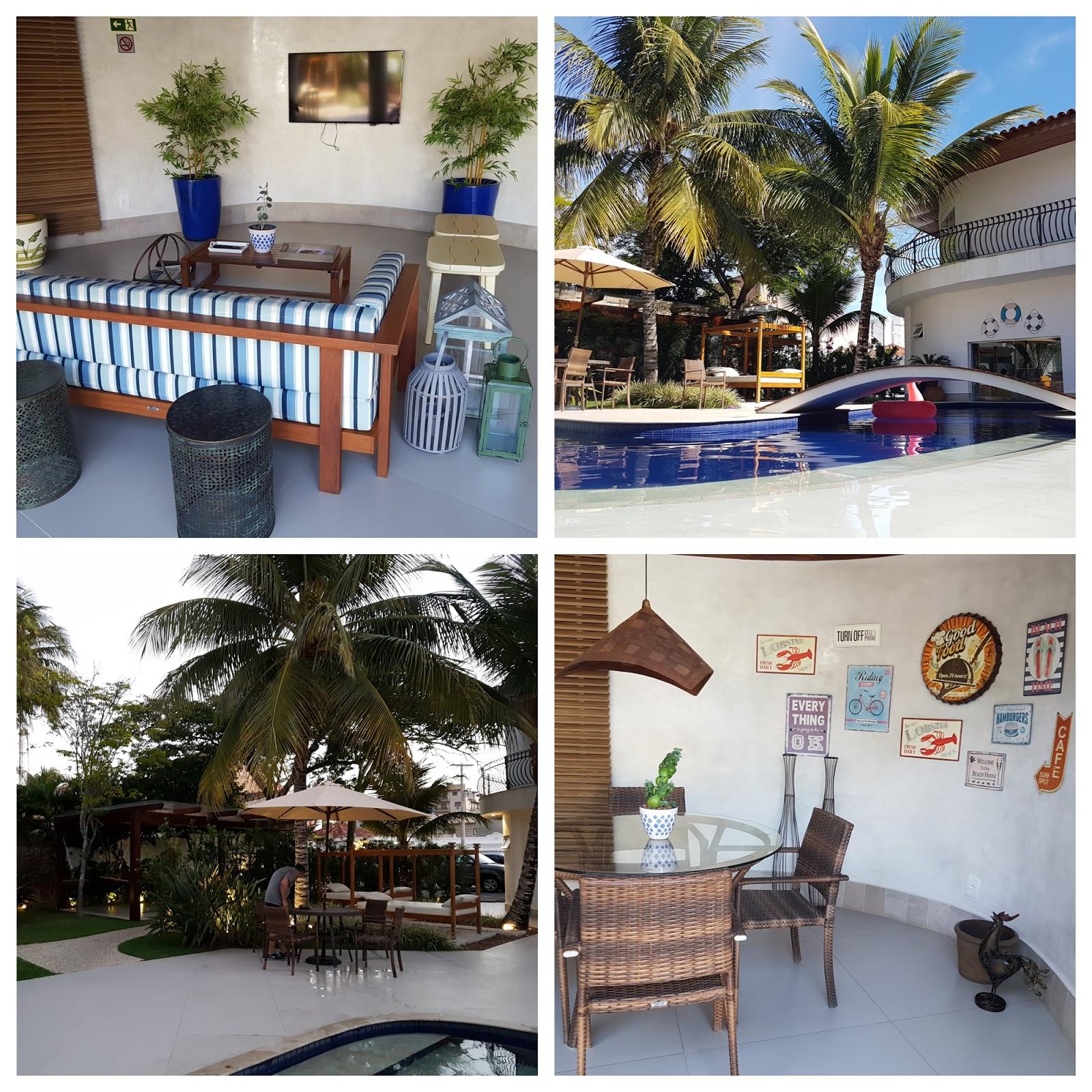 Hotel Boutique Recanto da Passagem,Cabo Frio, área de lazer.