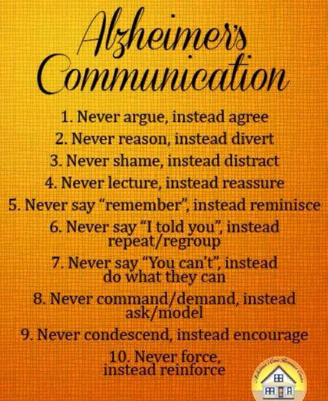 Alzheimers Dementia Weekly Alzheimers Communication