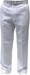 White Sports Trousers