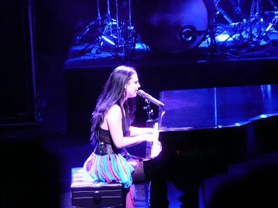 Evanescence en concert à l'Olympia
