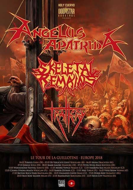 Angelus Apatrida European Tour