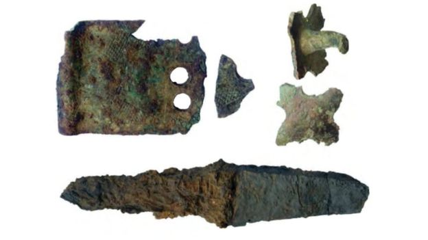 Remains of small medieval castle unearthed in NW Wales