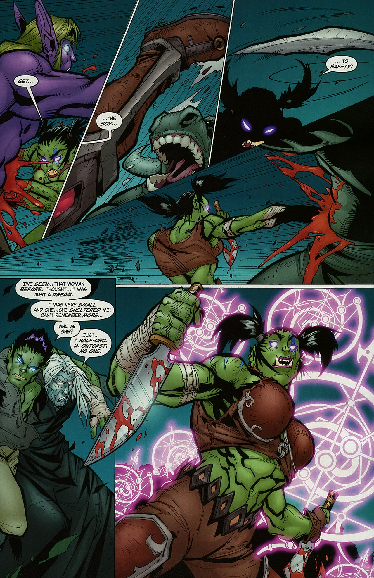 Read online World of Warcraft comic -  Issue #15 - 15