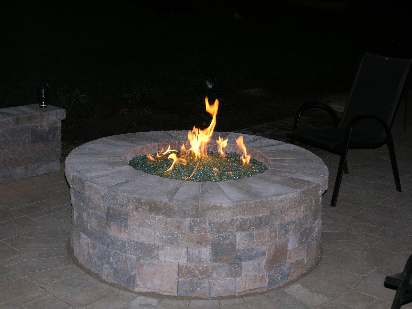 Life Time Pavers: Natural Gas Fire Pit