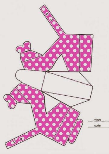Zapato de Minnie para Imprimir gratis. | Ideas y material gratis ...