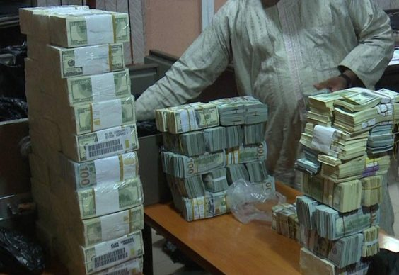 EFCC recover $9.7m found at NNPC boss Andrew Yakubu home in kaduna