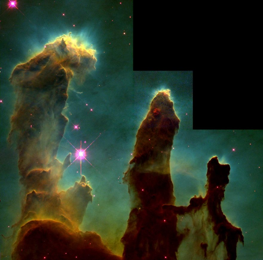 #14 Pillars Of Creation, Nasa, 1995 - Top 100 Of The Most Influential Photos Of All Time