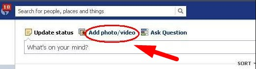 how to upload audio to facebook wall