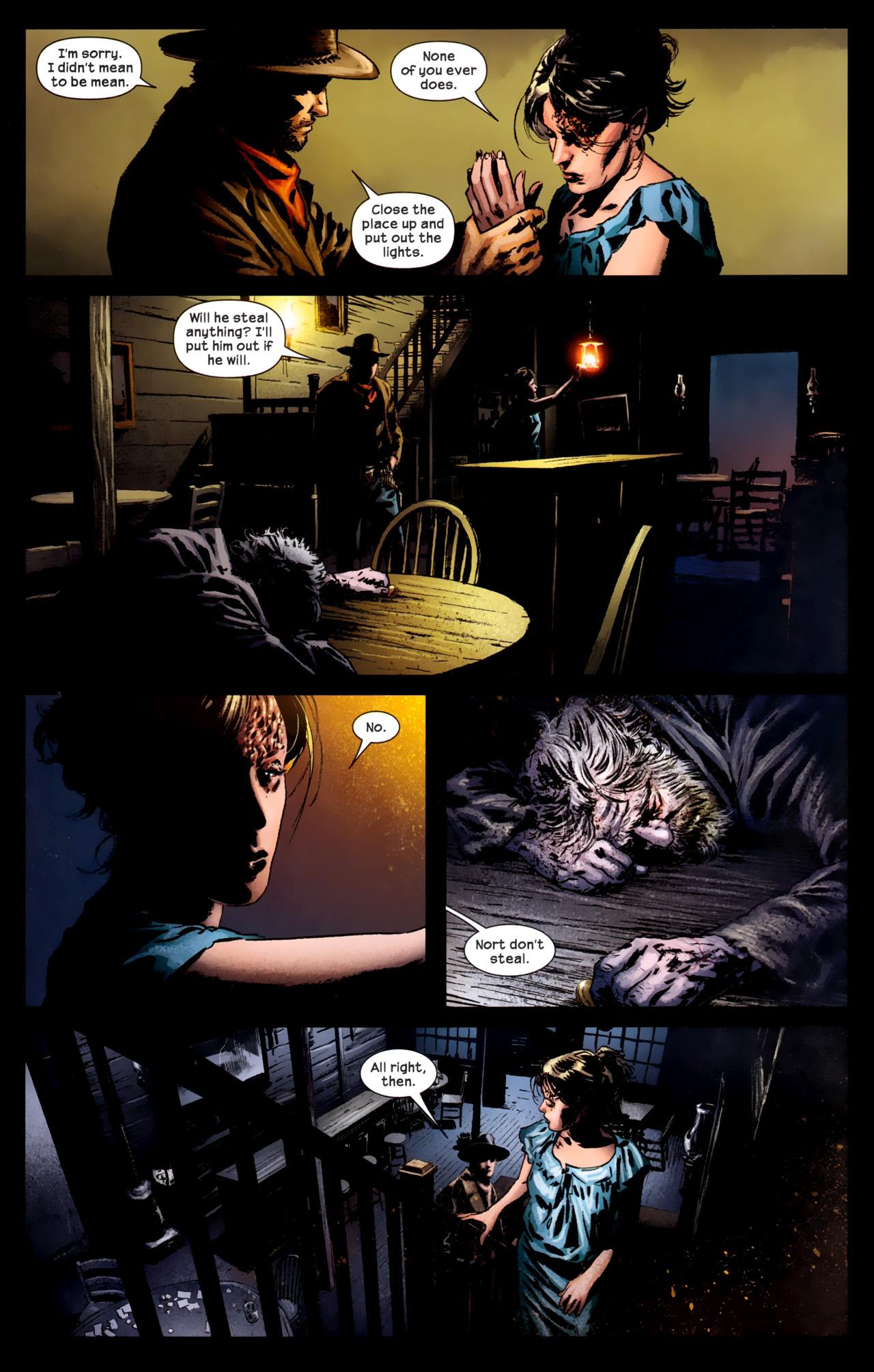 Read online Dark Tower: The Gunslinger - The Battle of Tull comic -  Issue #1 - 24
