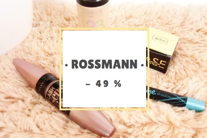 Haul zakupowy: Rossmann – 49%