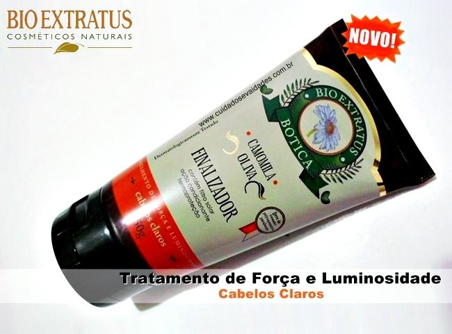 Finalizador Bio Extratus Botica - Camomila