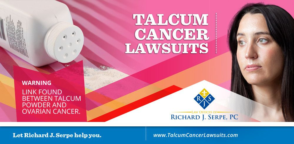 Richard J. Serpe, Talcum Cancer Lawsuit