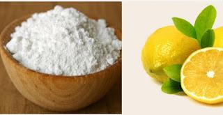 Koltuk altı beyazlatmak karbonat limon