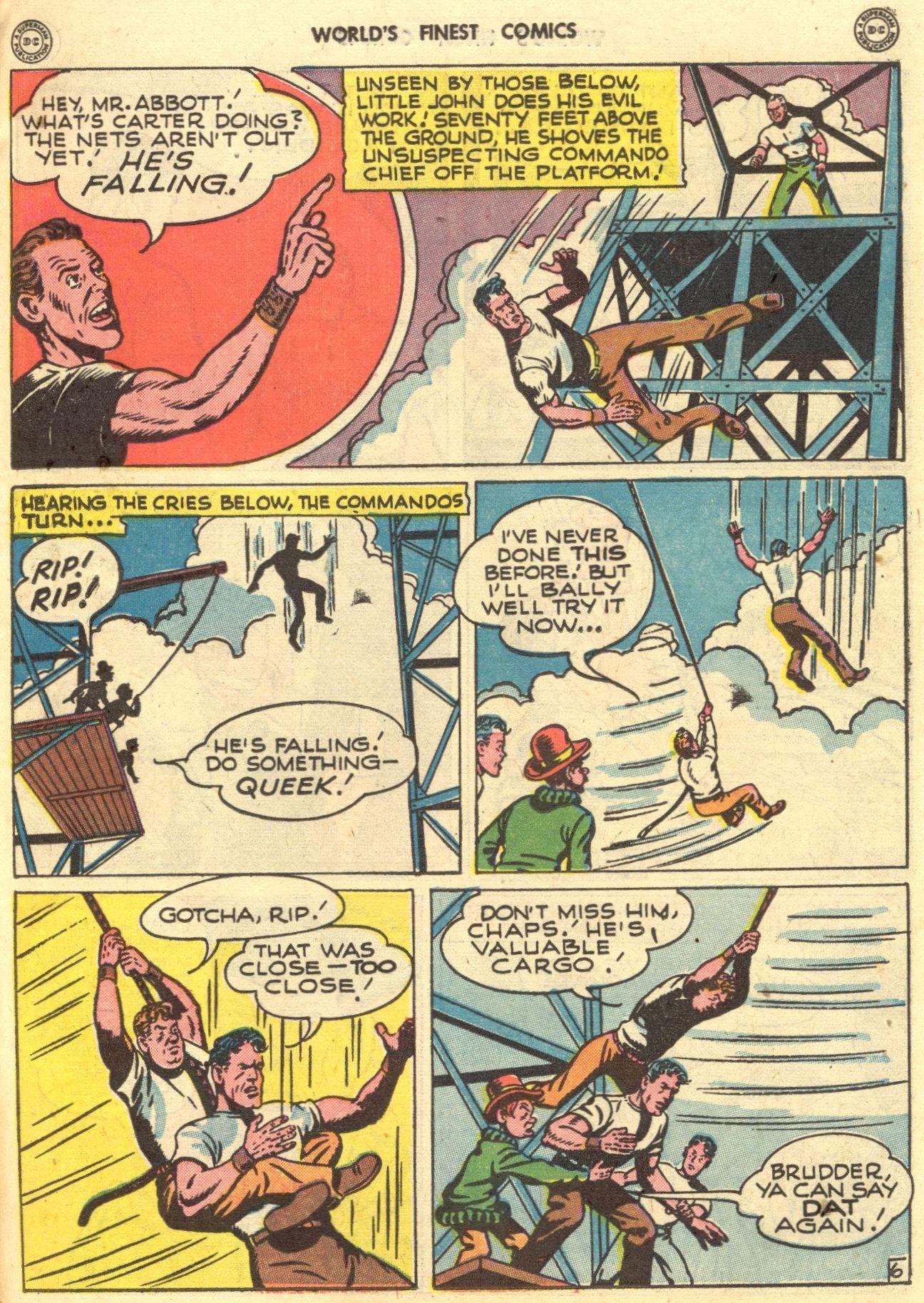 Read online World's Finest Comics comic -  Issue #28 - 34