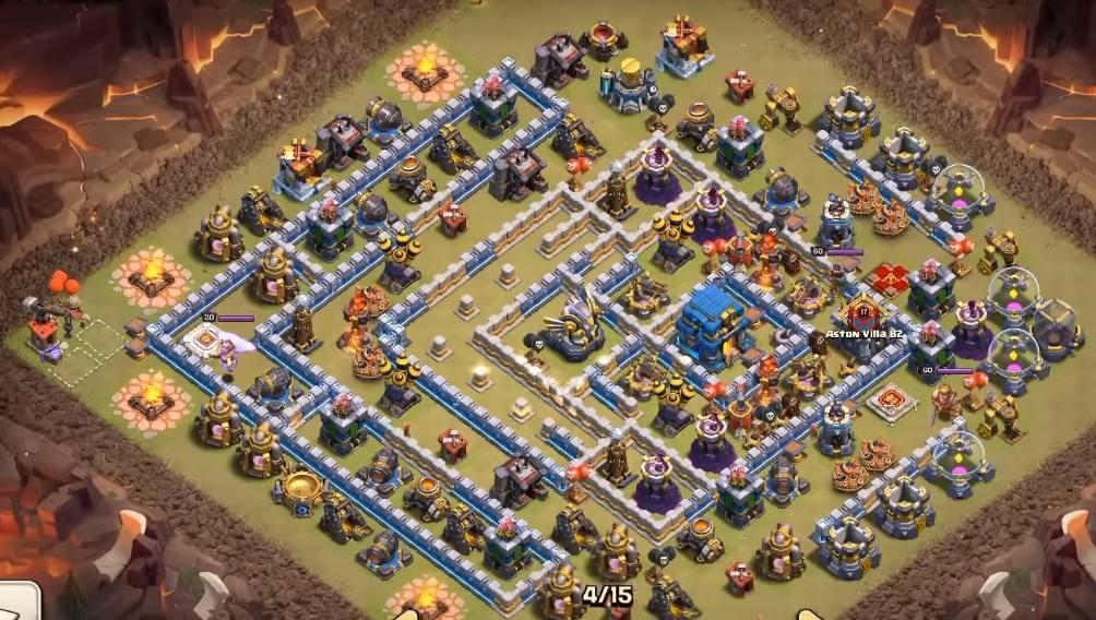 good th12 war base anti 2 star