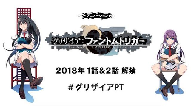PV Anime 'Grisaia: Phantom Trigger' Umumkan Tampilan Visual, Seiyuu dan Penyanyi Lagu Tema
