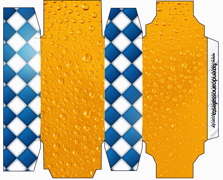 Cajas de Fiesta de la Cerveza para imprimir gratis.
